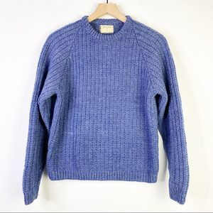 Amazing Vintage Hand Knit Raglan Sweater